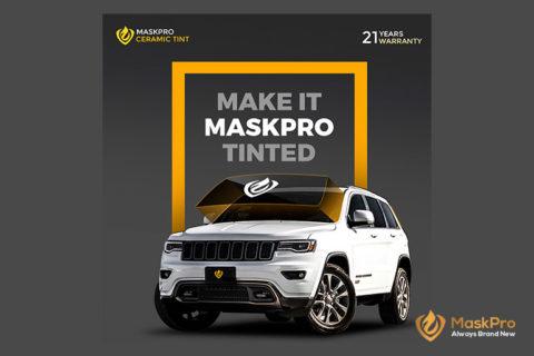 MaskPro Ceramic Tint: Incorporating The Latest Nanotechnology in Window Films